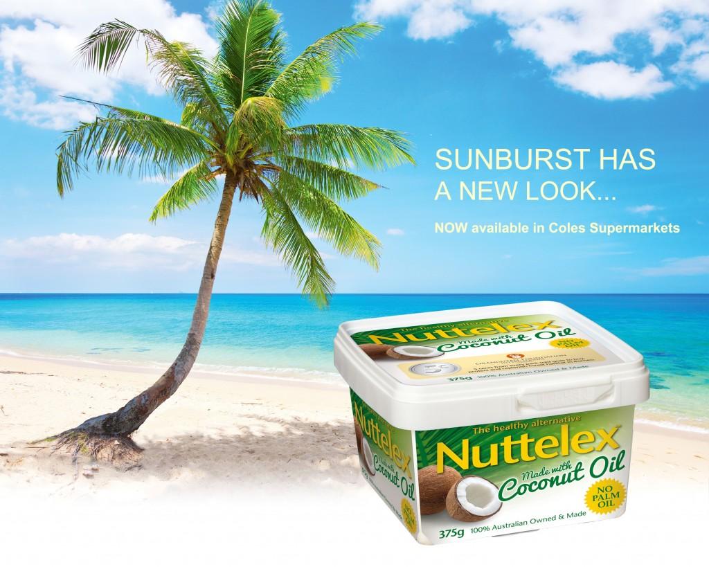 Nuttelex on beach photo