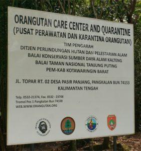 OFI Care Centre Sign