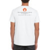 mens white tee - back