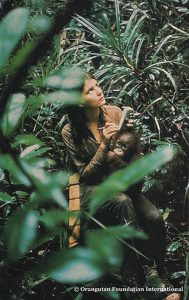Dr. Biruté Mary Galdikas in the Forest