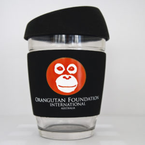 eco-friendly reusable glass keep cup