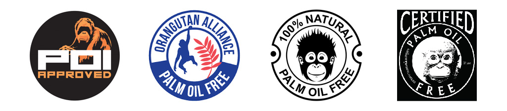 Palm oil free banner