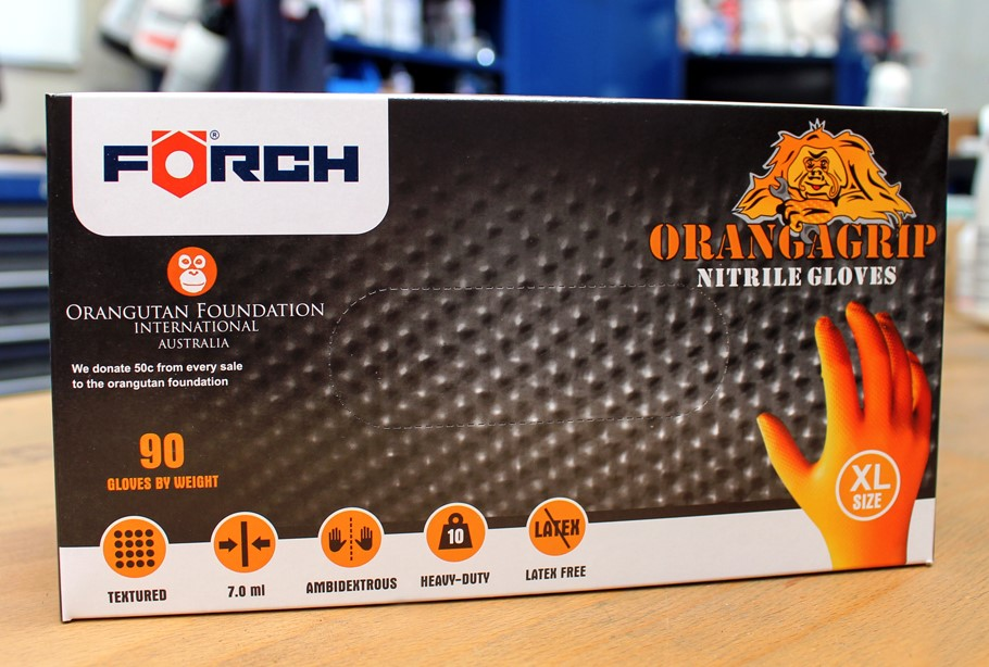 Forch Orangagrip gloves