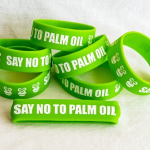 Green Bracelet - Say No To Palm Oil